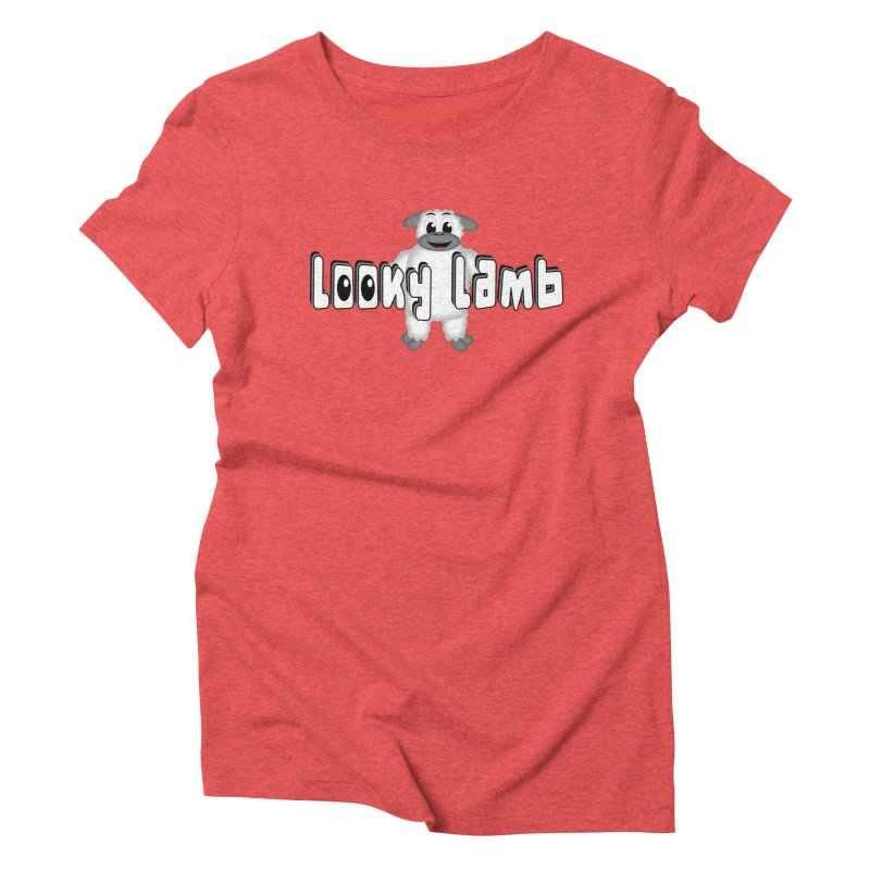Looky Lamb Women's Triblend T-Shirt by Games for Glori Shop