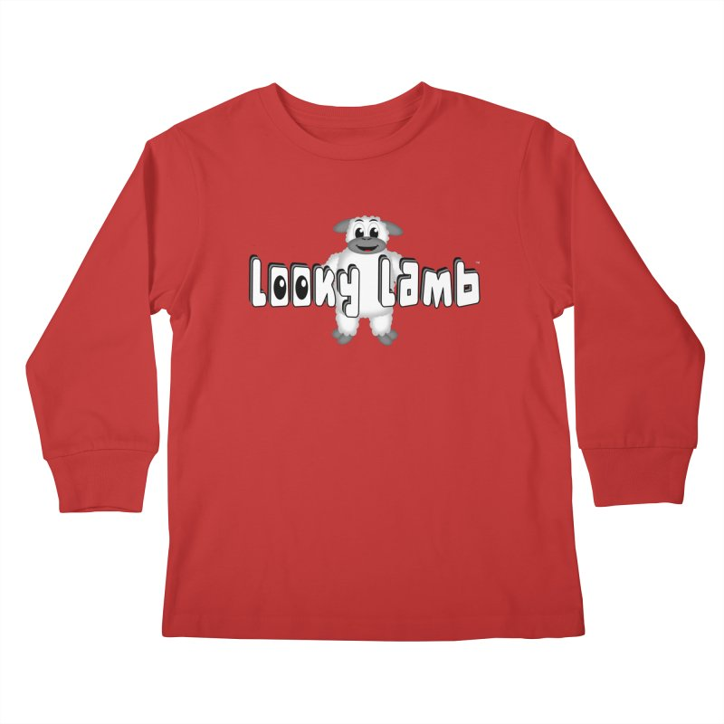 Looky Lamb Kids Longsleeve T-Shirt by Games for Glori Shop
