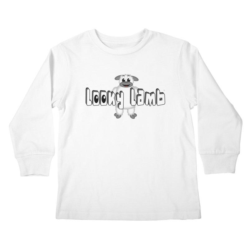 Looky Lamb Kids Longsleeve T-Shirt by Games for Glori Shop