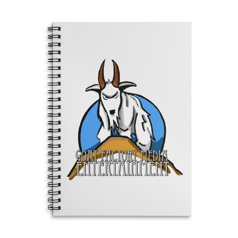 The Original GOAT Accessories Notebook by GFMEDIA - Goat Town Mall
