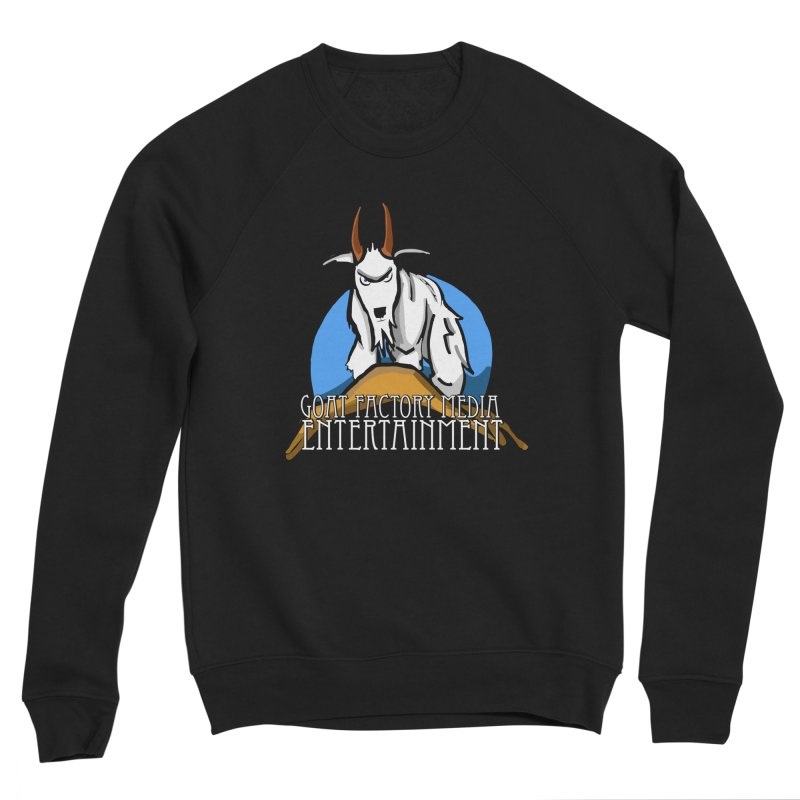 The Original GOAT Men's Sweatshirt by GFMEDIA - Goat Town Mall
