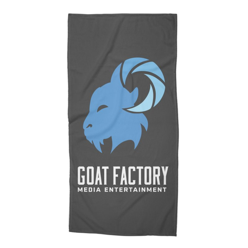 The New Goat Accessories Beach Towel by GFMEDIA - Goat Town Mall