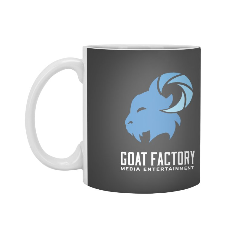 The New Goat Accessories Mug by GFMEDIA - Goat Town Mall