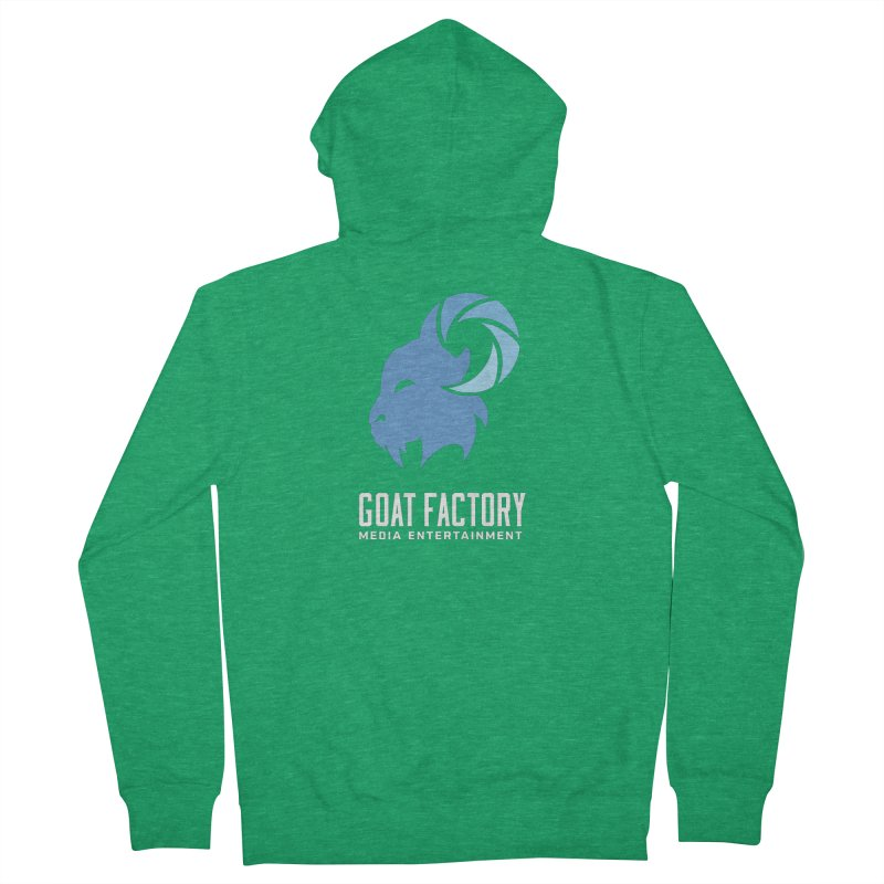 The New Goat Women's Zip-Up Hoody by GFMEDIA - Goat Town Mall