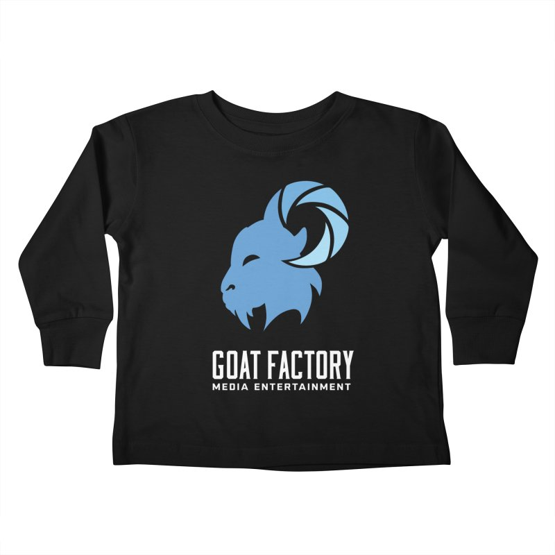 The New Goat Kids Toddler Longsleeve T-Shirt by GFMEDIA - Goat Town Mall