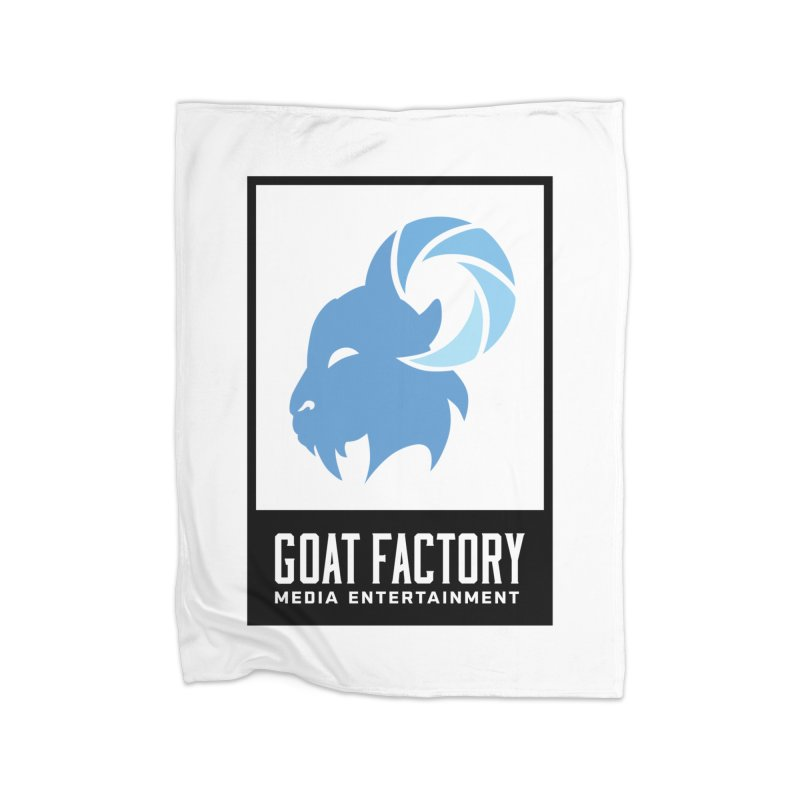 New Goat with boxing Home Blanket by GFMEDIA - Goat Town Mall