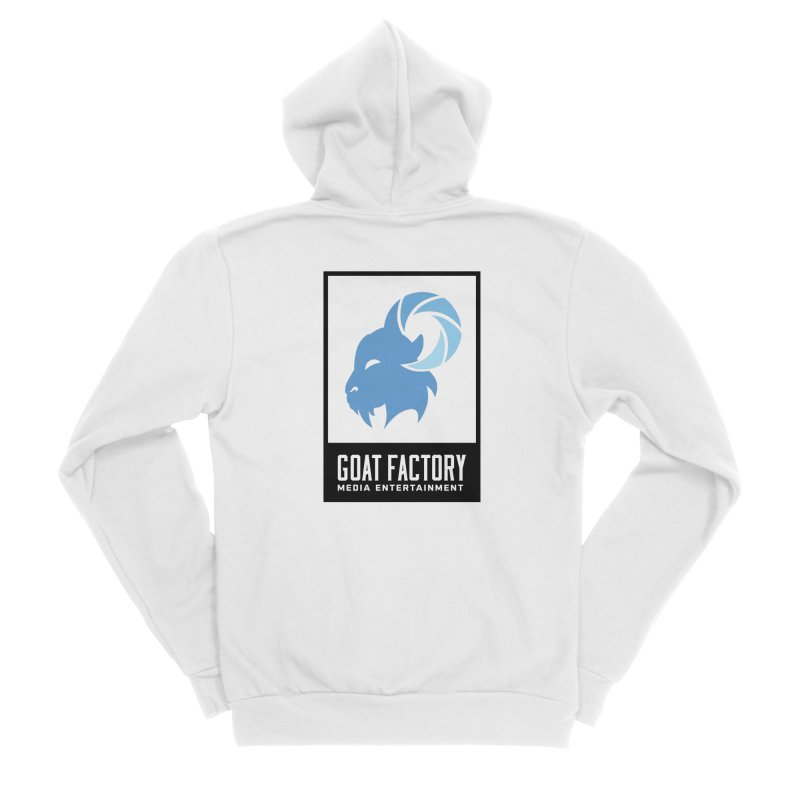 New Goat with boxing Women's Zip-Up Hoody by GFMEDIA - Goat Town Mall
