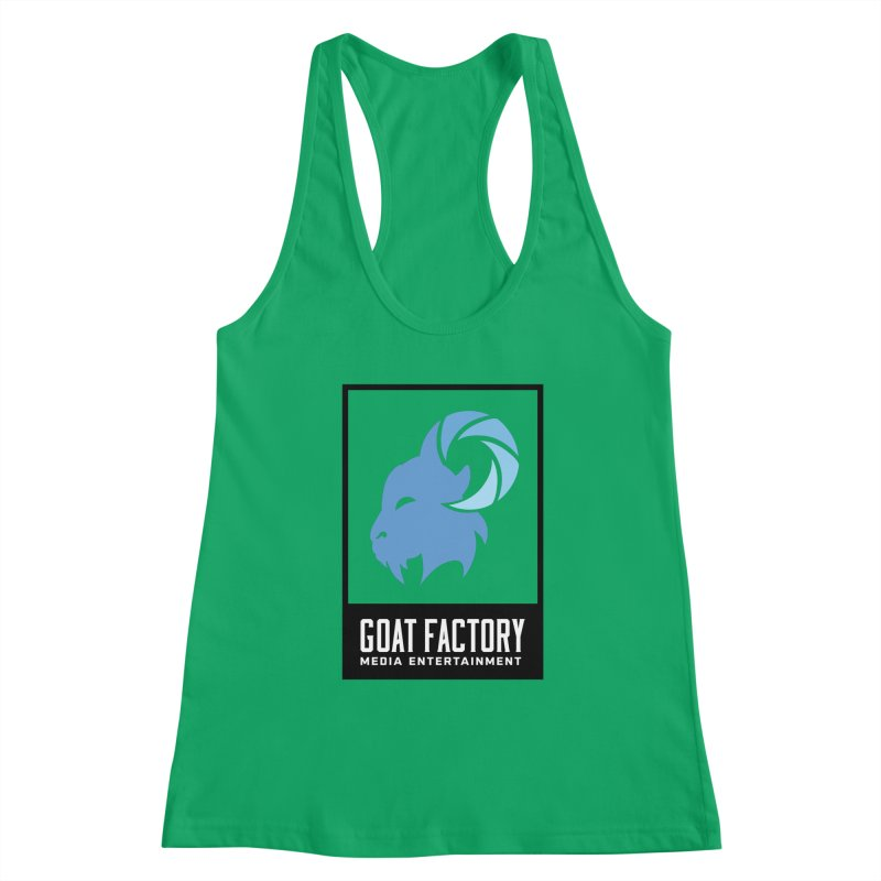 New Goat with boxing Women's Tank by GFMEDIA - Goat Town Mall