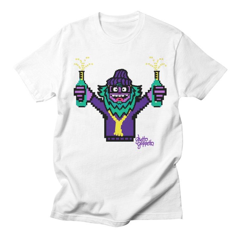 HOOD WINS Men's T-shirt by ghettogeppetto's Artist Shop