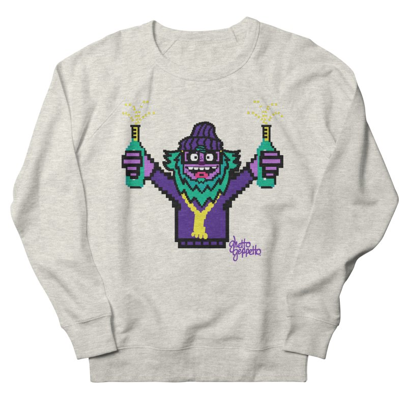 HOOD WINS Men's French Terry Sweatshirt by ghettogeppetto's Artist Shop