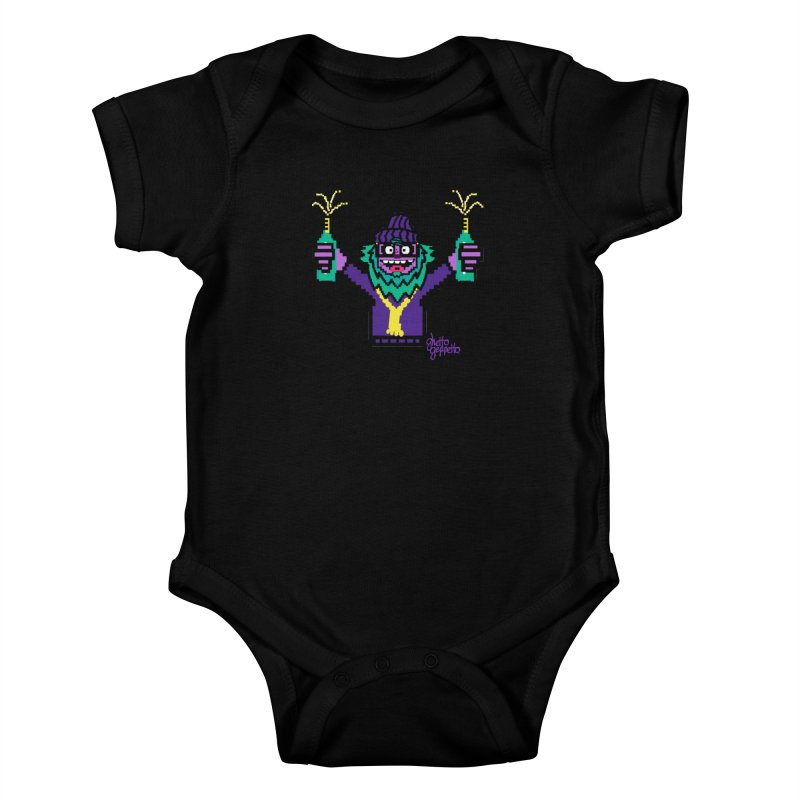 HOOD WINS Kids Baby Bodysuit by ghettogeppetto's Artist Shop