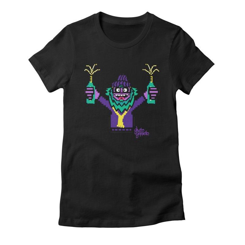 HOOD WINS Women's T-Shirt by ghettogeppetto's Artist Shop