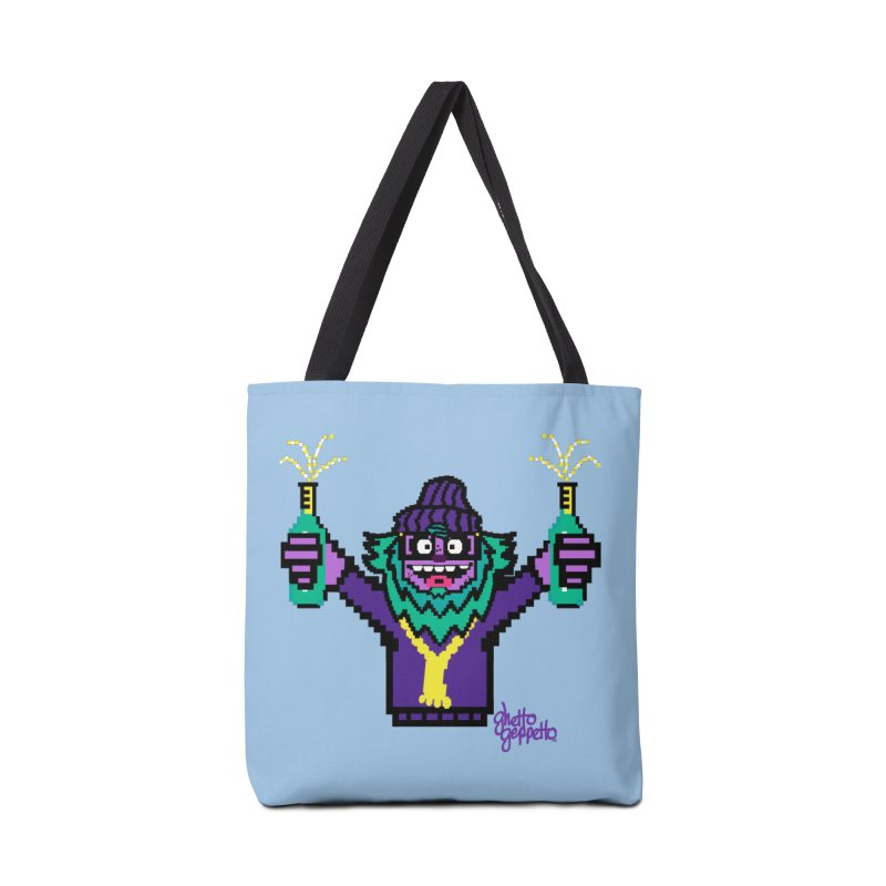 HOOD WINS Accessories Bag by ghettogeppetto's Artist Shop