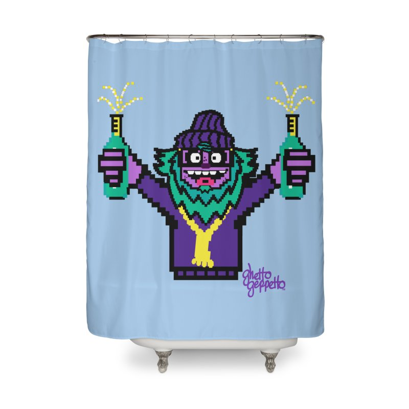 HOOD WINS Home Shower Curtain by ghettogeppetto's Artist Shop