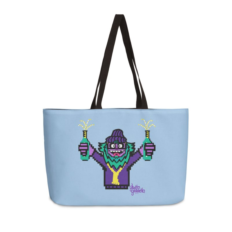 HOOD WINS Accessories Weekender Bag Bag by ghettogeppetto's Artist Shop