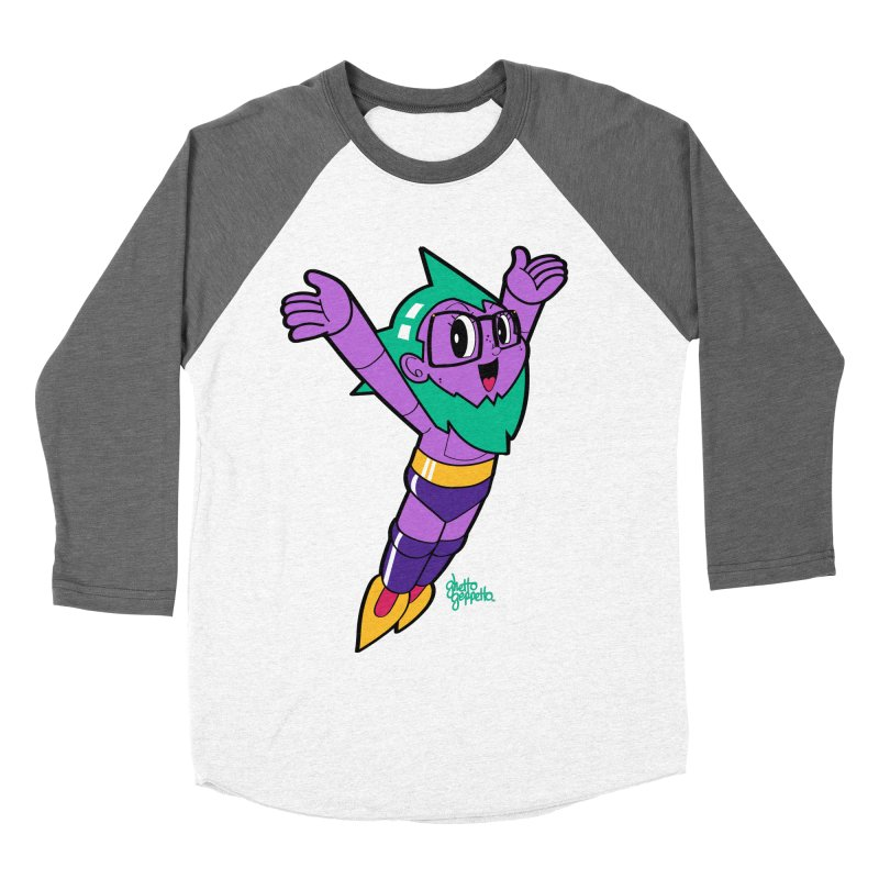 ASTRO FOOT Women's Baseball Triblend Longsleeve T-Shirt by ghettogeppetto's Artist Shop