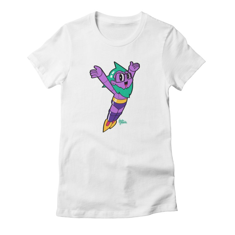 ASTRO FOOT Women's T-Shirt by ghettogeppetto's Artist Shop