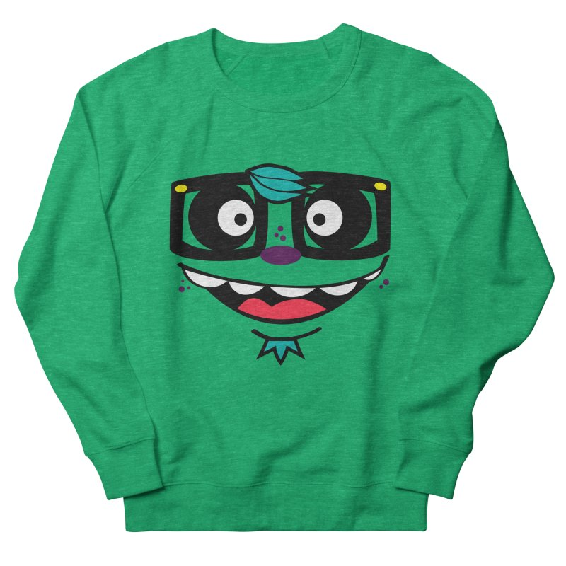 HOOD FACE Men's French Terry Sweatshirt by ghettogeppetto's Artist Shop