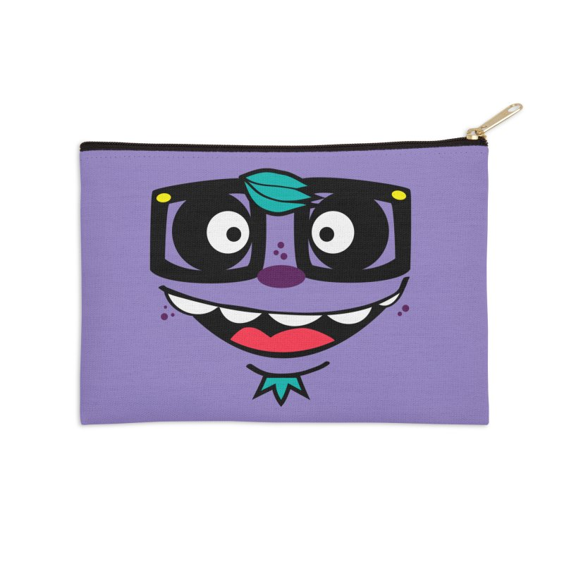 HOOD FACE Accessories Zip Pouch by ghettogeppetto's Artist Shop