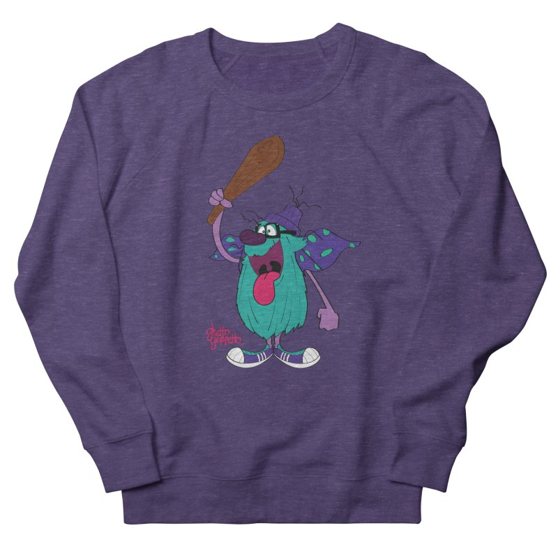 CAVE FOOT Men's Sweatshirt by ghettogeppetto's Artist Shop