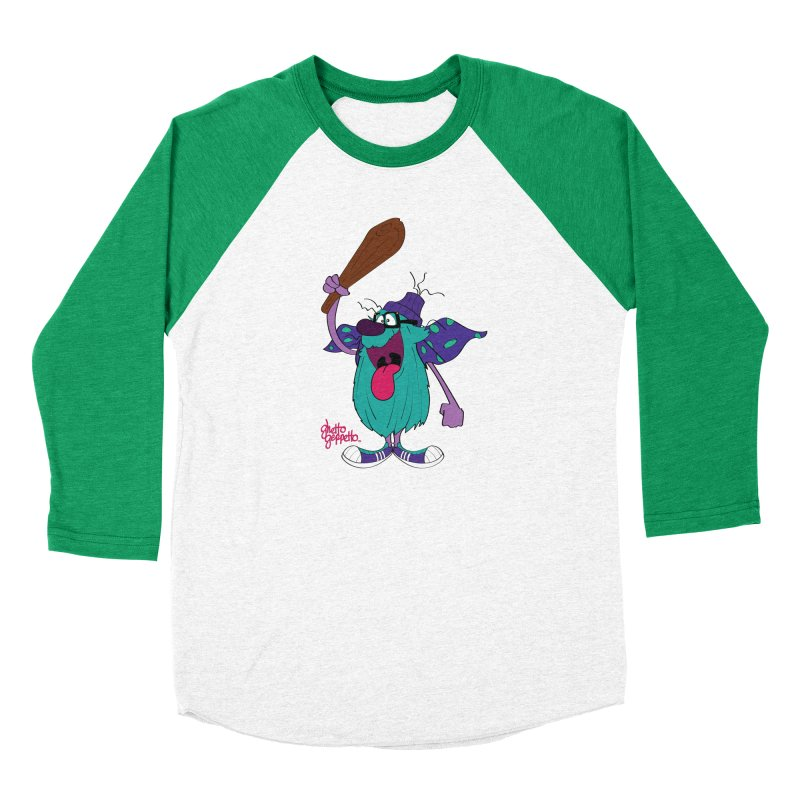 CAVE FOOT Women's Baseball Triblend Longsleeve T-Shirt by ghettogeppetto's Artist Shop