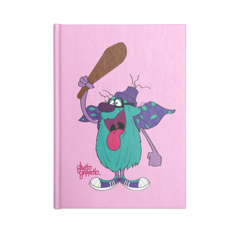 CAVE FOOT Accessories Notebook by ghettogeppetto's Artist Shop