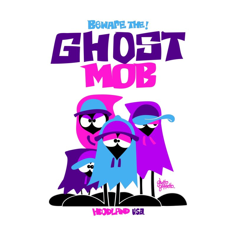 BEWARE THE GHOST MOB Men's Sweatshirt by ghettogeppetto's Artist Shop
