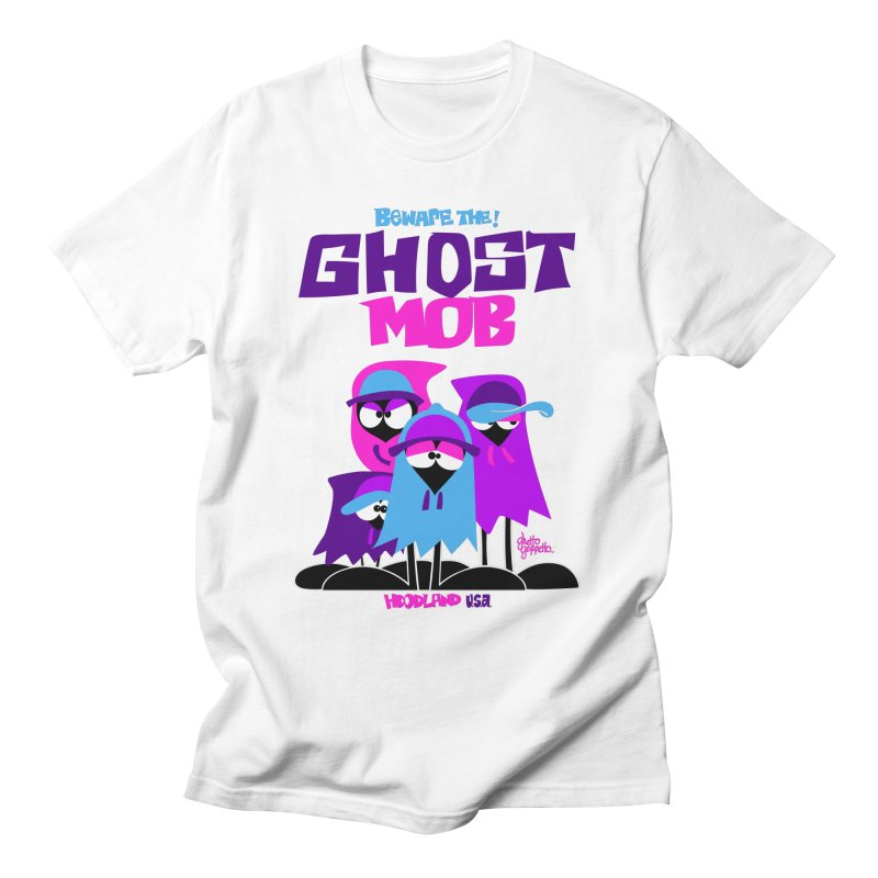 BEWARE THE GHOST MOB Men's T-Shirt by ghettogeppetto's Artist Shop