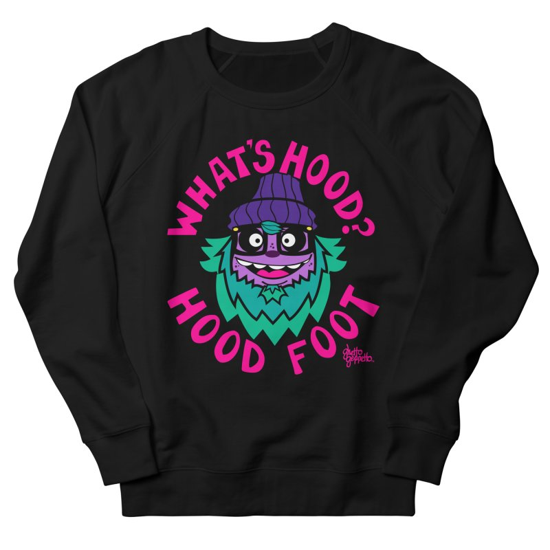 WHAT'S HOOD ? Men's Sweatshirt by ghettogeppetto's Artist Shop