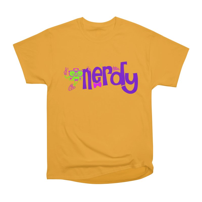 NERDY Women's Classic Unisex T-Shirt by ghettogeppetto's Artist Shop