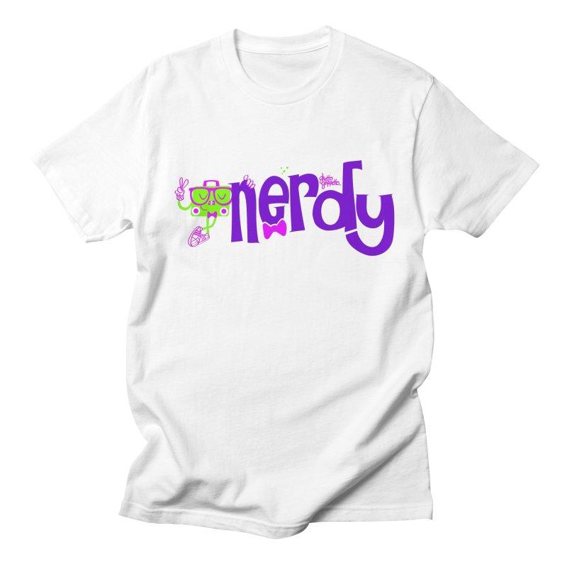NERDY Men's Regular T-Shirt by ghettogeppetto's Artist Shop