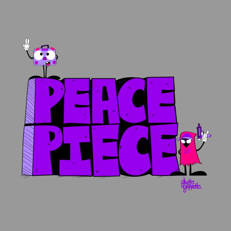 PEACE OR PIECE  Men's T-Shirt by ghettogeppetto's Artist Shop
