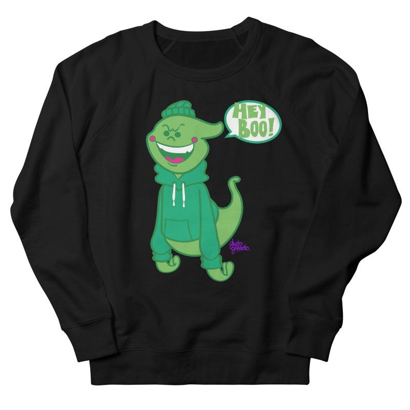 HEY BOO!! Men's Sweatshirt by ghettogeppetto's Artist Shop