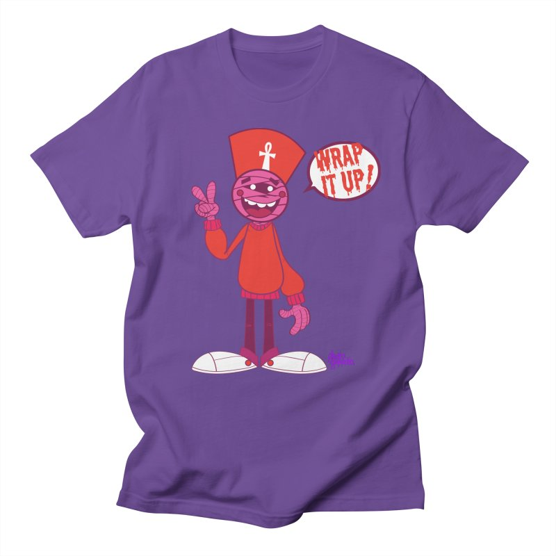 WRAP IT UP Men's T-Shirt by ghettogeppetto's Artist Shop