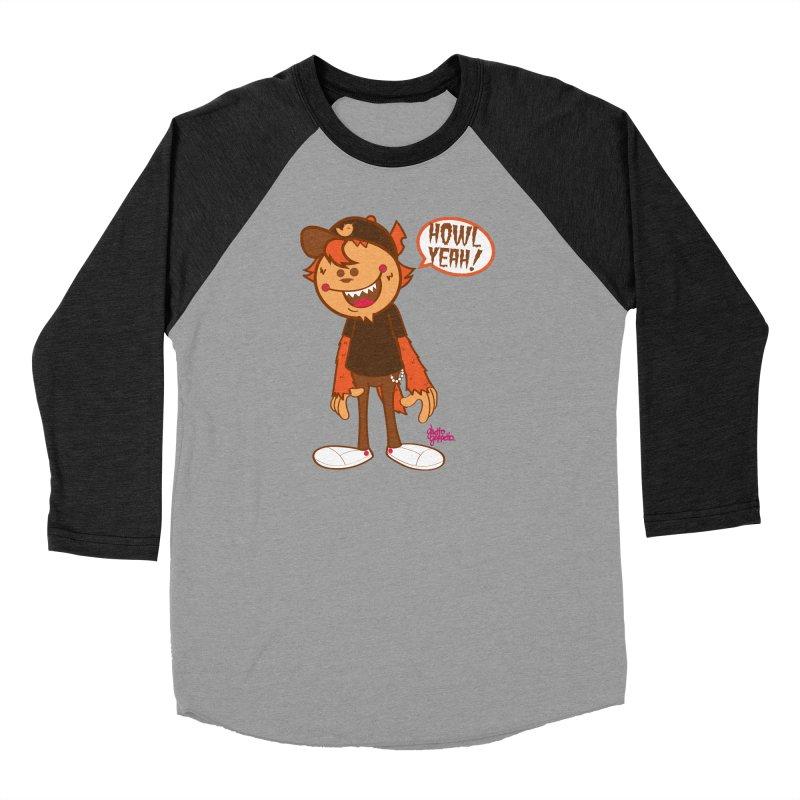 Howl Yeah Men's Longsleeve T-Shirt by ghettogeppetto's Artist Shop