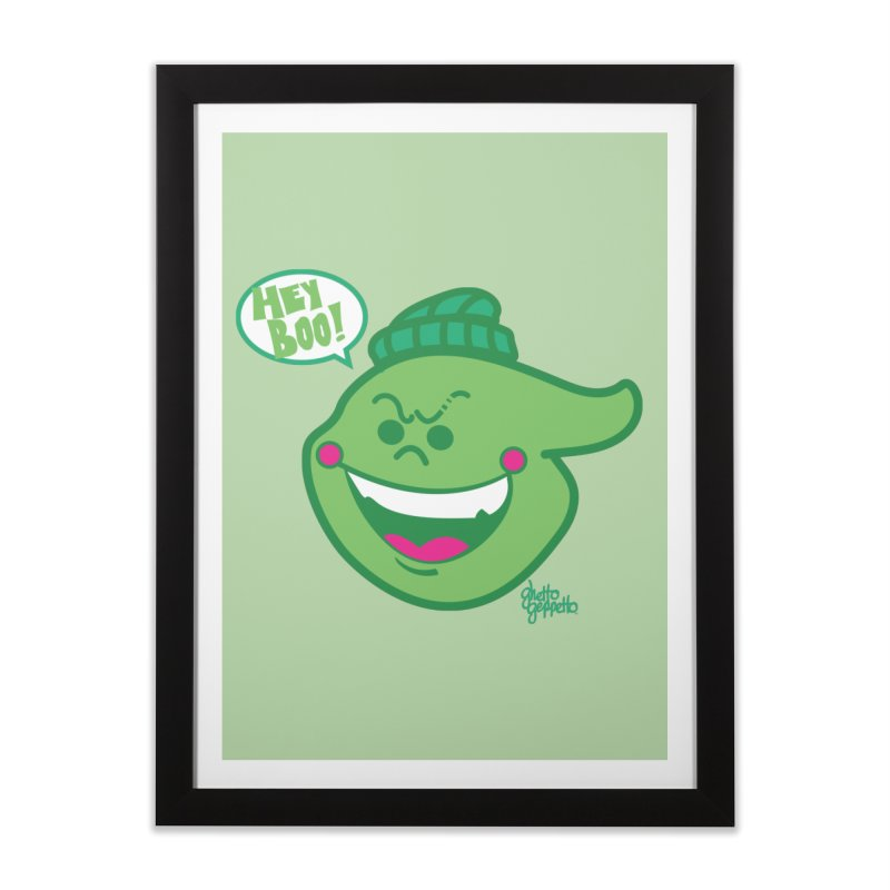 LIME Home Framed Fine Art Print by ghettogeppetto's Artist Shop