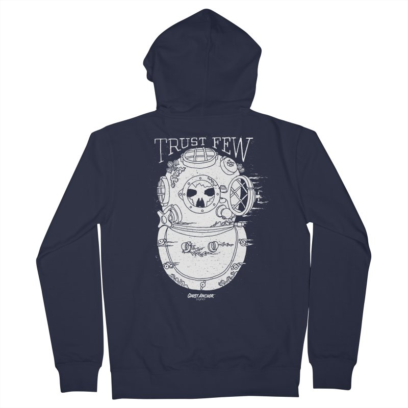 Trust Few Women's Zip-Up Hoody by GHOST ANCHOR BRAND