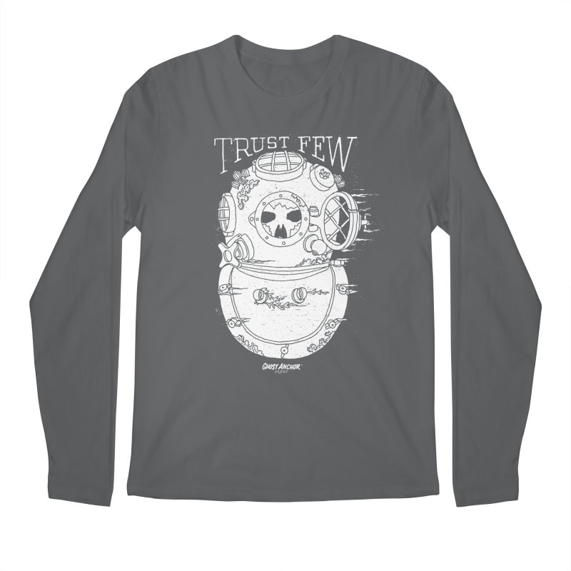 Trust Few Men's Regular Longsleeve T-Shirt by GHOST ANCHOR BRAND