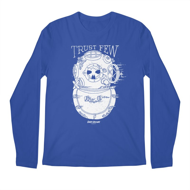 Trust Few Men's Regular Longsleeve T-Shirt by GHOST ANCHOR BRAND