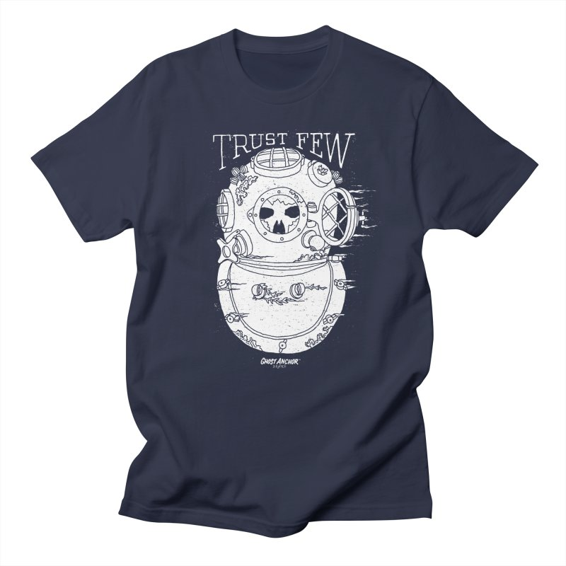 Trust Few Men's T-Shirt by GHOST ANCHOR BRAND