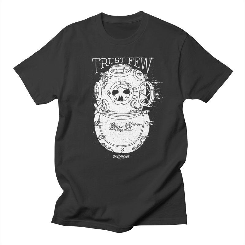 Trust Few Men's T-shirt by GHOST ANCHOR BRAND