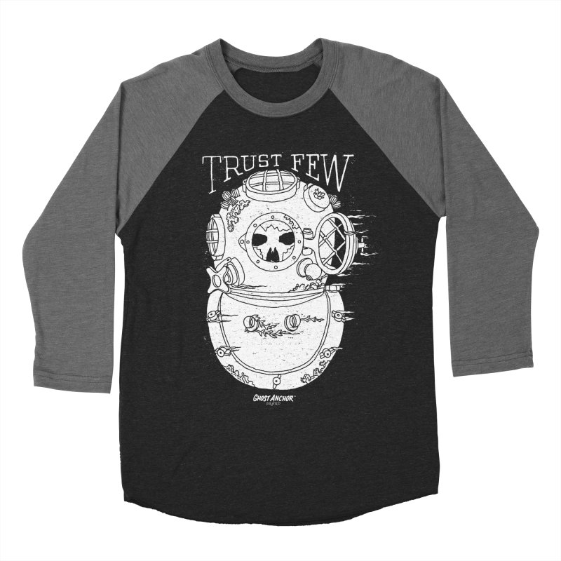 Trust Few Women's Baseball Triblend T-Shirt by GHOST ANCHOR BRAND