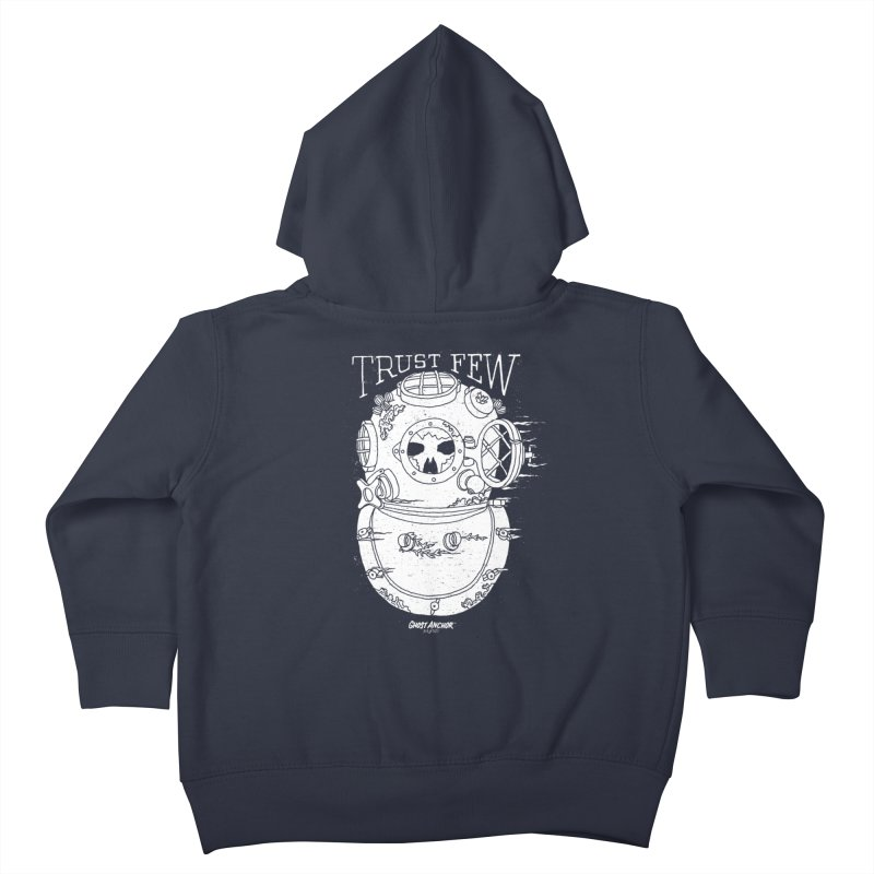 Trust Few Kids Toddler Zip-Up Hoody by GHOST ANCHOR BRAND