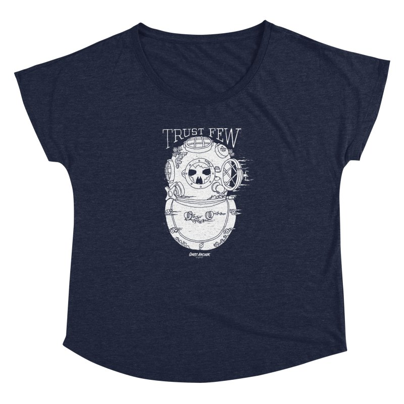 Trust Few Women's Dolman Scoop Neck by GHOST ANCHOR BRAND