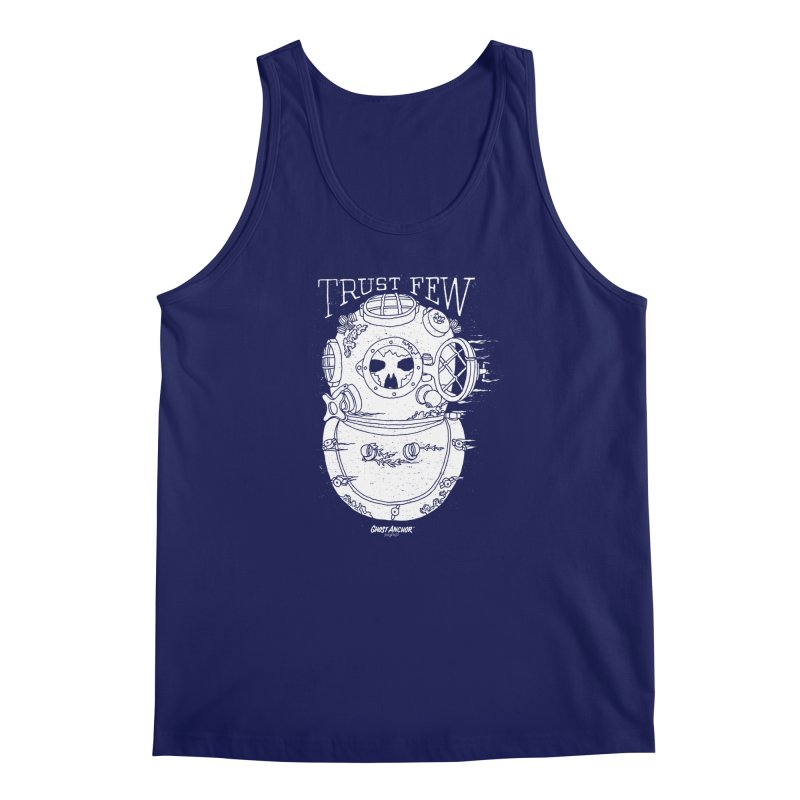 Trust Few Men's Regular Tank by GHOST ANCHOR BRAND