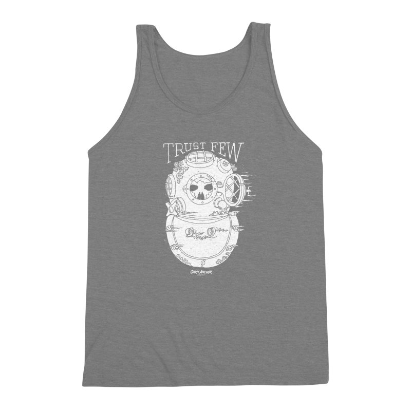 Trust Few Men's Triblend Tank by GHOST ANCHOR BRAND