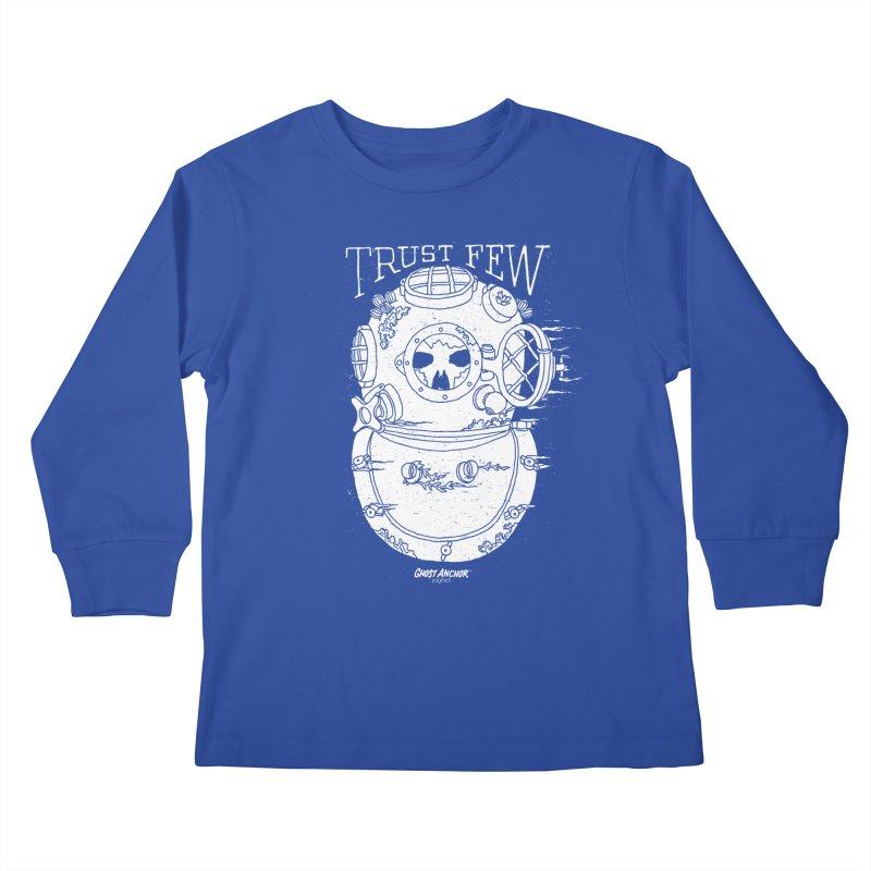 Trust Few Kids Longsleeve T-Shirt by GHOST ANCHOR BRAND