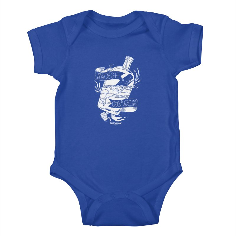 Awash to the Gunwales Kids Baby Bodysuit by GHOST ANCHOR BRAND