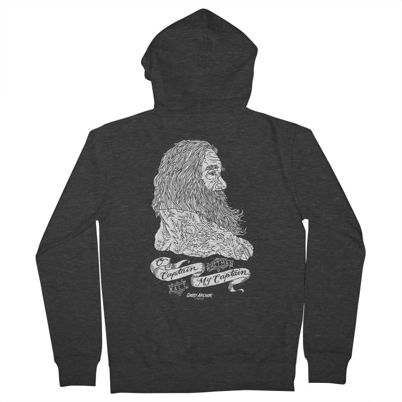 O Captain, my Captain! Women's Zip-Up Hoody by GHOST ANCHOR BRAND