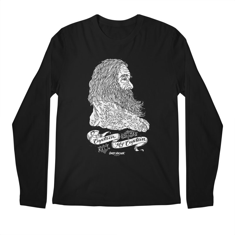O Captain, my Captain! Men's Regular Longsleeve T-Shirt by GHOST ANCHOR BRAND